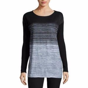 Long-Sleeve Drop-Shoulder Tunic
